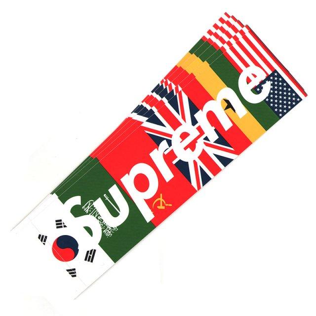 Supreme - Flags Box Logo Sticker