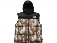 The North Face/Supreme - Fur Print Nuptse Vest
