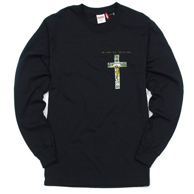 Supreme/Dead Kennedys - In God We Trust L/S Tee