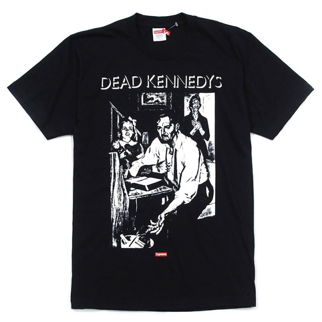 Supreme/Dead Kennedys - Too Drunk To Fuck Tee