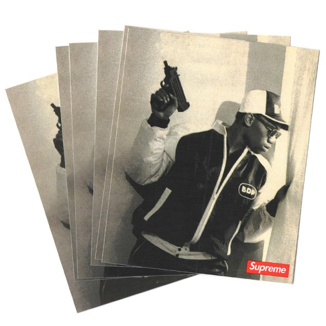 Supreme - KRS-One Sticker