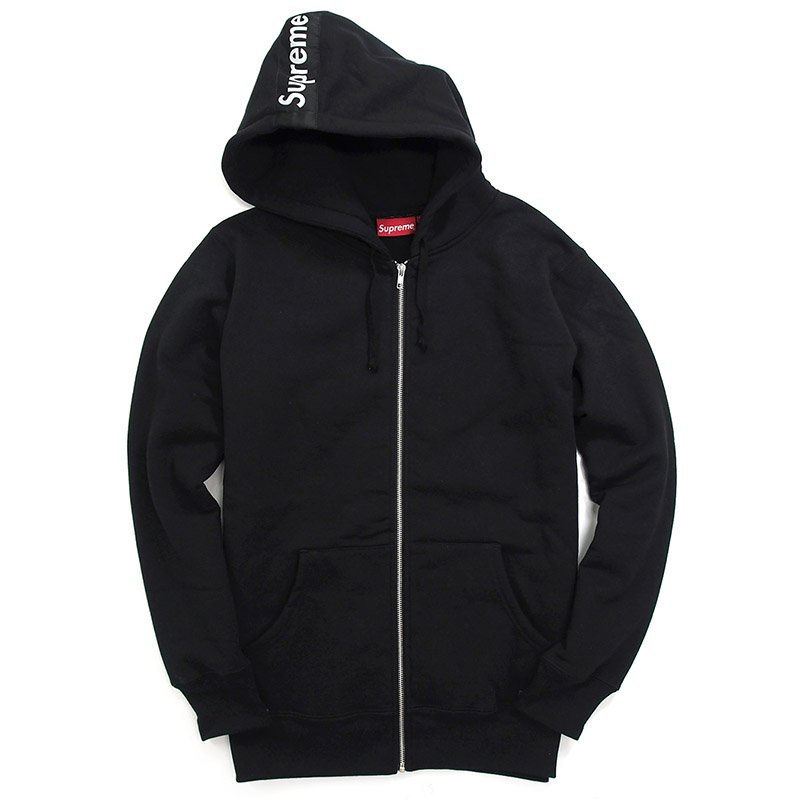 d40af6cc3845 Supreme - Logo Tape Zip Up - UG.SHAFT