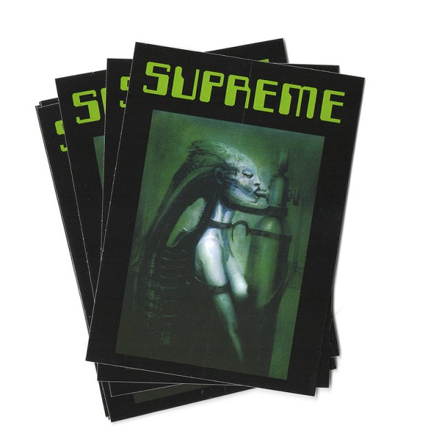 Supreme/H.R. Giger - Biomechanoid Sticker