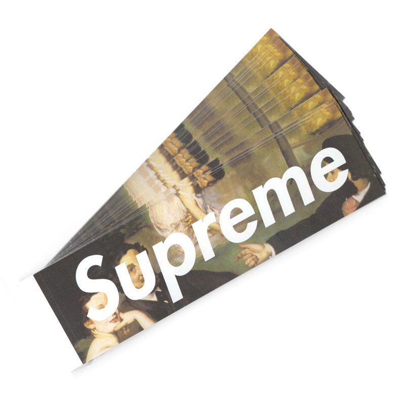 Supreme - Manet Box Logo Sticker