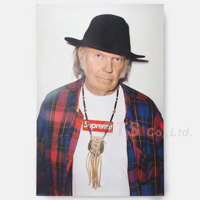 【Dead Stock】Supreme - Neil Young Poster【コンディションA】