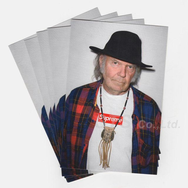 Supreme - Neil Young Sticker