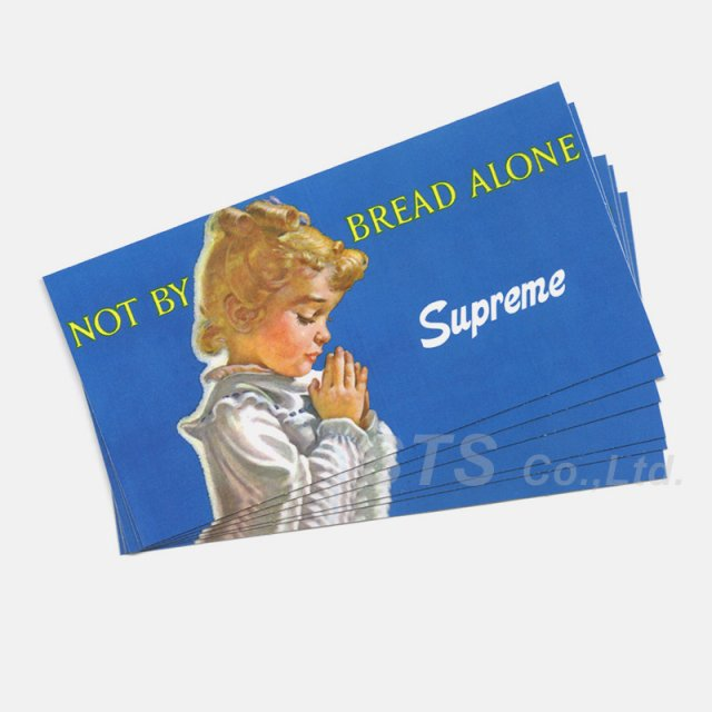 Supreme - Bread Alone Sticker