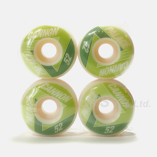 Palace Skateboards - Palace Cannon 52mm Wheels
