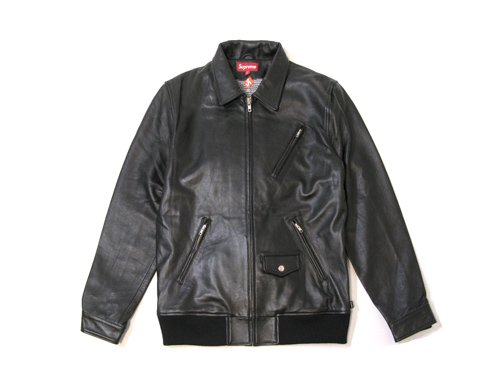 Supreme - Leather Bomber