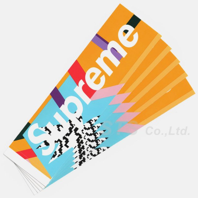 Supreme - Mendini Box Logo Sticker