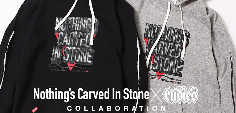 Nothings Carved In Stone×RUDIES PROGRESSIVE HOOD SWEAT