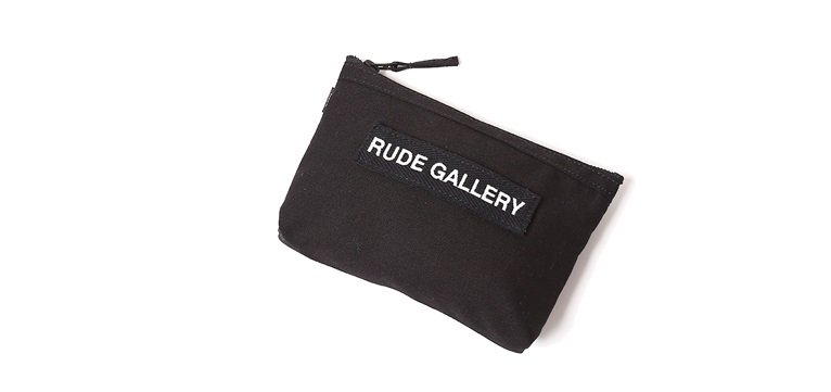 RUDE GALLERY / RUDE NATION POUCH(BLK)