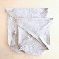 roots bucket suck / natural - linen paraffin canvas