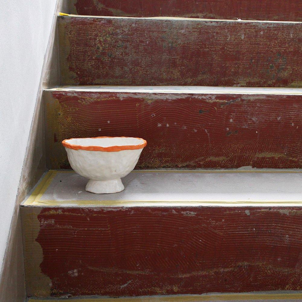 orange rim / bowl