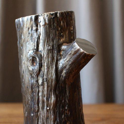 silver ornament / tree - B