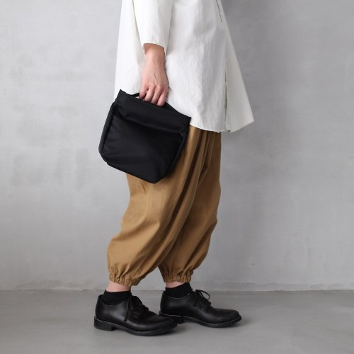leaf spring pouch _ no.2 / black - nylon twill