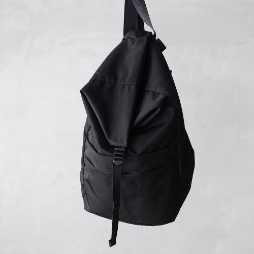 leaf spring backpack _ no.1 / black - nylon twill