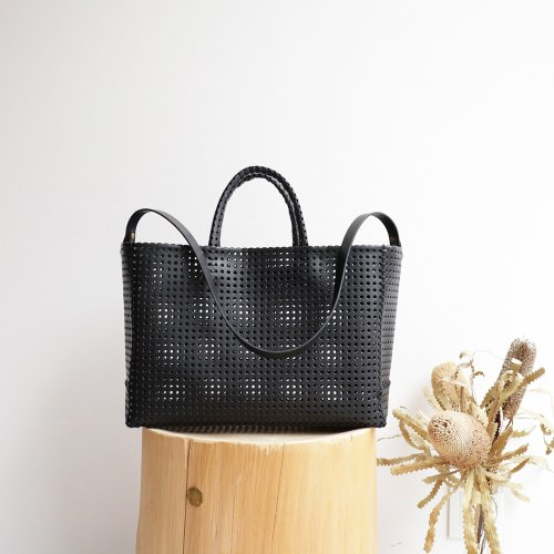 KAGO TOTE BAG 01 / BLACK