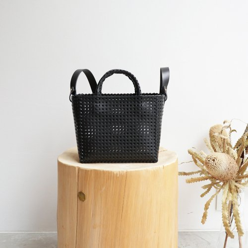 KAGO TOTE BAG 02 / BLACK