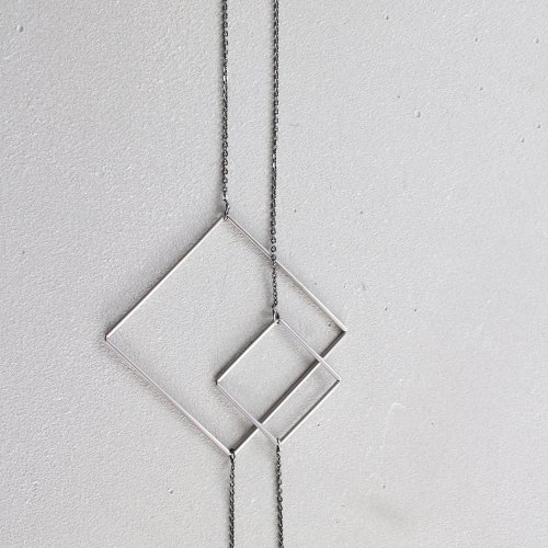 83_RIGHT LINE NECKLACE AB_RL_N2