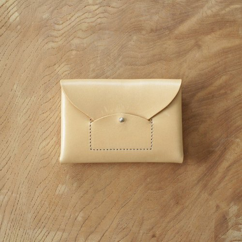 RICRAC CARD CASE / NUDE