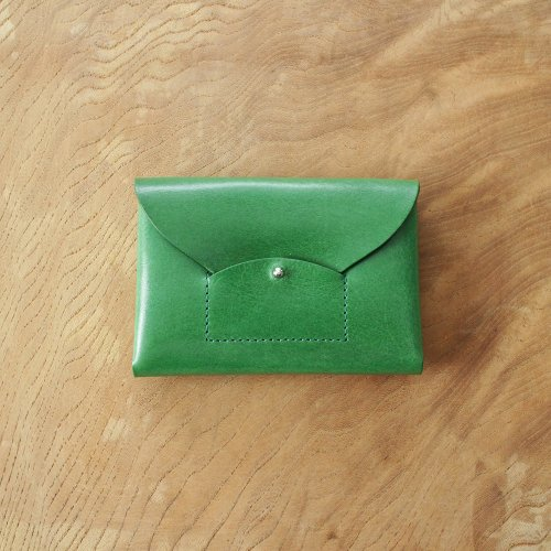 RICRAC CARD CASE / GREEN