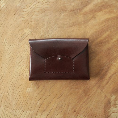 RICRAC CARD CASE / BROWN