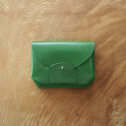 RICRAC MINI WALLET / GREEN