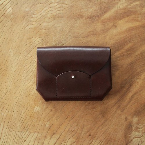 RICRAC MINI WALLET / BROWN