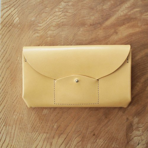 RICRAC LONG WALLET / NUDE