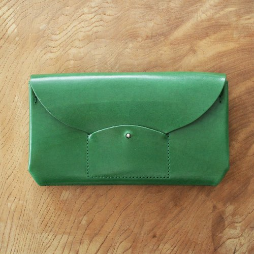 RICRAC LONG WALLET / GREEN