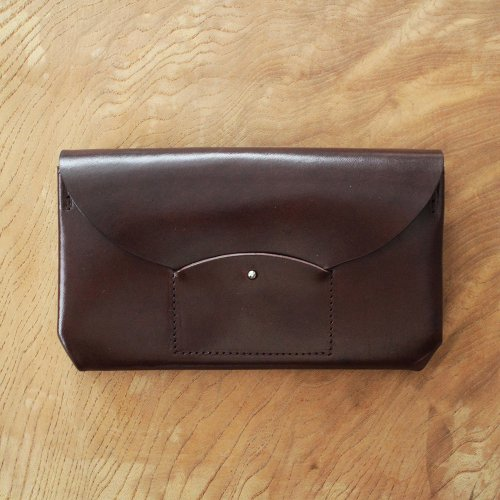 RICRAC LONG WALLET / BROWN