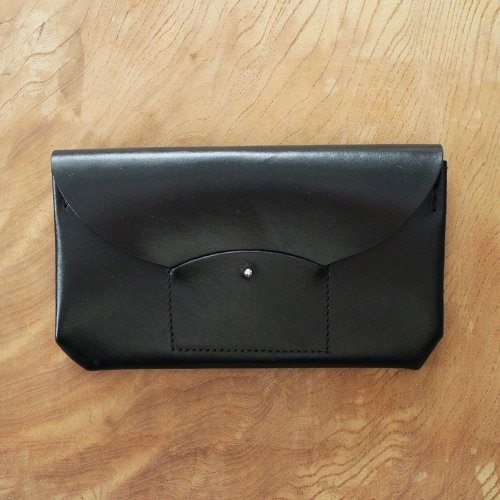 RICRAC LONG WALLET / BLACK