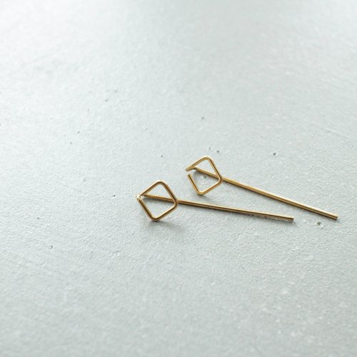90_RIGHT LINE EARRINGS AB_RL_E2_G