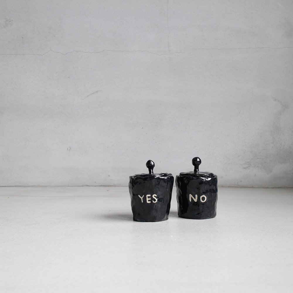 YES,NO / pot