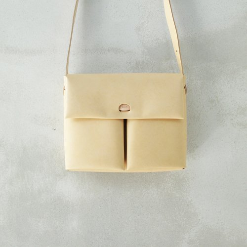 SEAMLESS SHOULDER BAG / NUDE