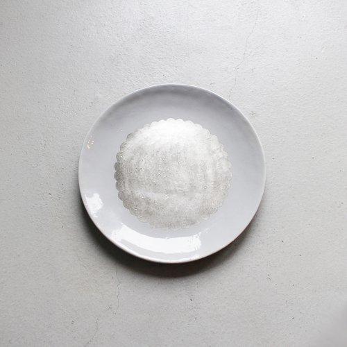 7寸皿 / 銀彩・Gray