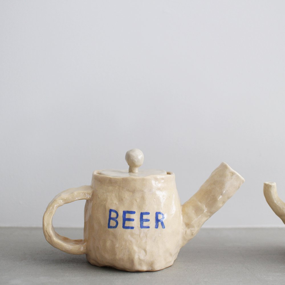 BEER, TEA / tea pot