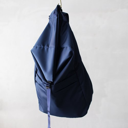 leaf spring backpack _ no.2 / navy - nylon twill