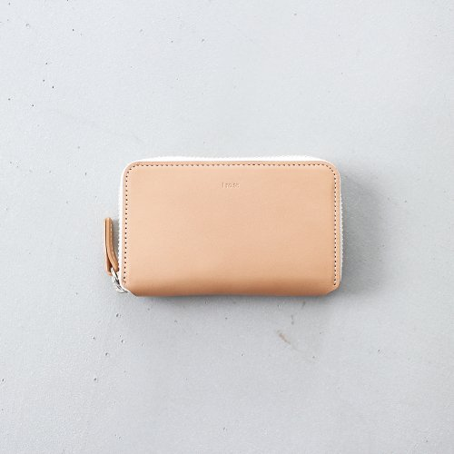 POP UP MINI WALLET / NUDE