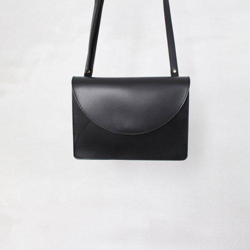 FOLD MINI SHOULDER BAG / BLACK