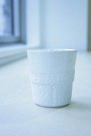 White porcelain beaker
