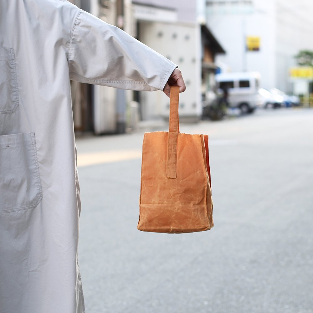 GROCERY BAG with HANDLE / Small_Brown