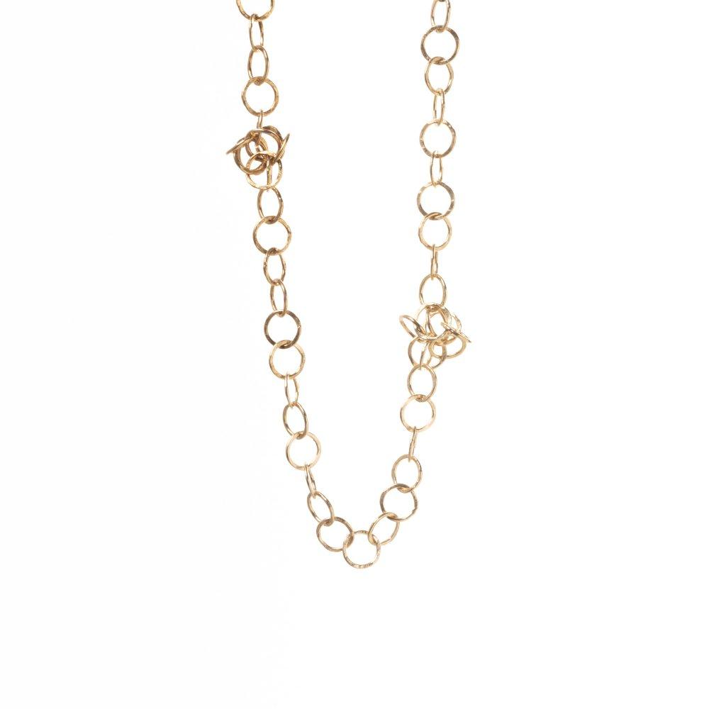 awa necklace 90cm / gold