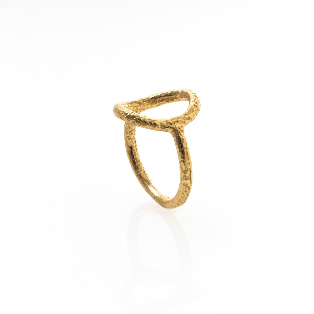 yubiwa ring 15mm / gold