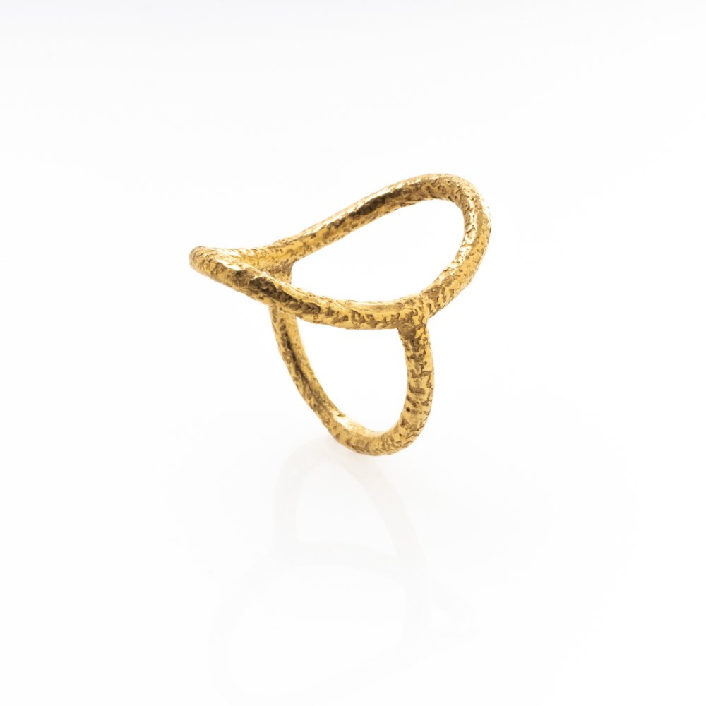 yubiwa ring 24mm / gold
