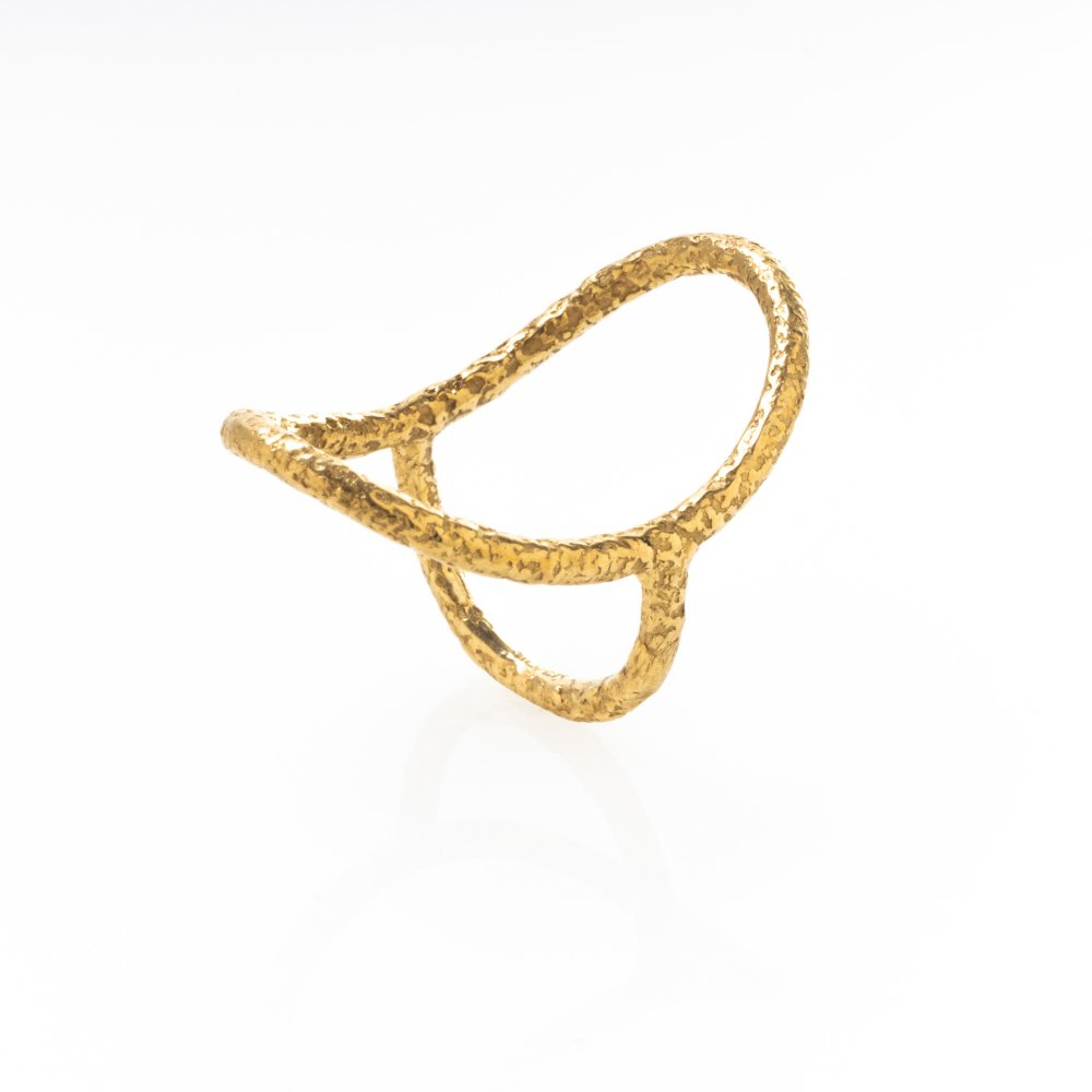 yubiwa ring 30mm / gold