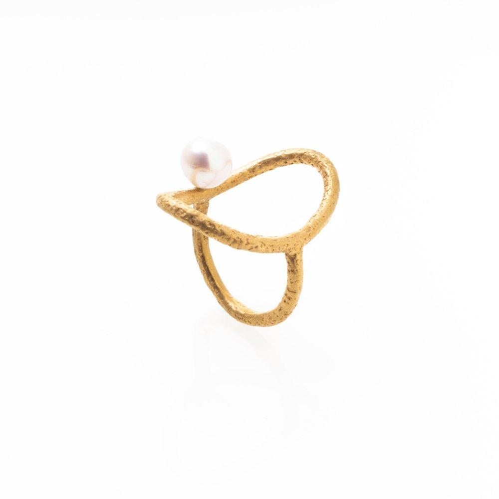 yubiwa shizuku ring / gold
