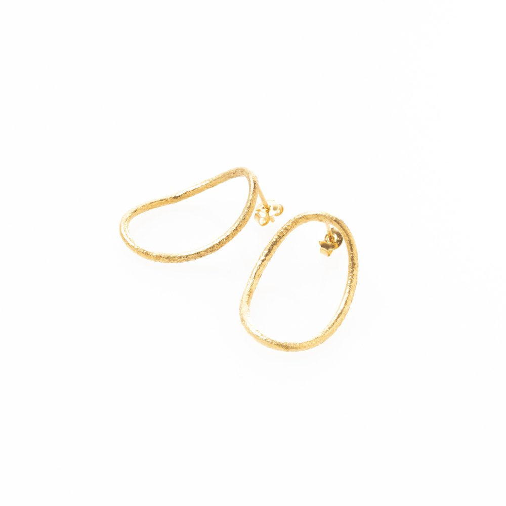yubiwa pierce 30mm (1pair) / gold