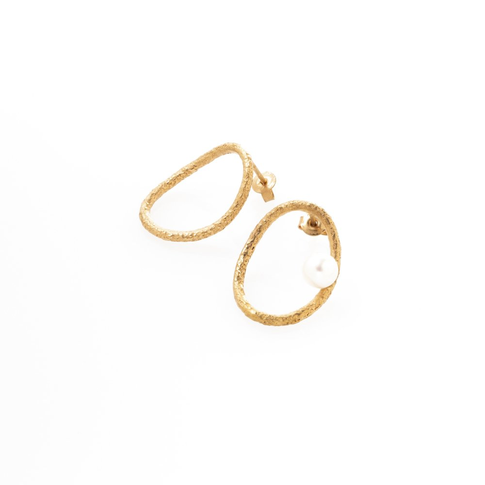 yubiwa shizuku pierce right / gold